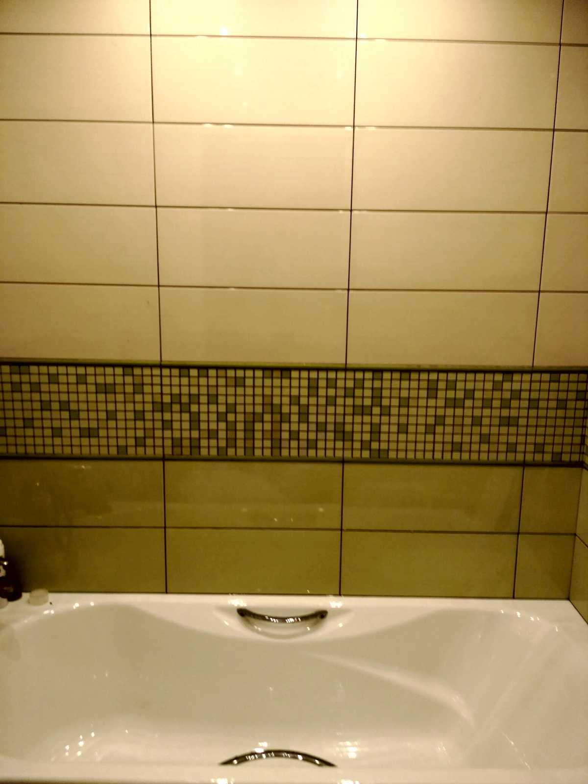Настенная плитка в ванне
