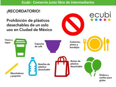 Prohibición de plásticos desechables: todo lo que necesitas saber para no tener una multa 😱