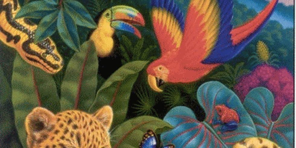 Zwierzęta dżungli i sawanny - Zajęcia online (2)