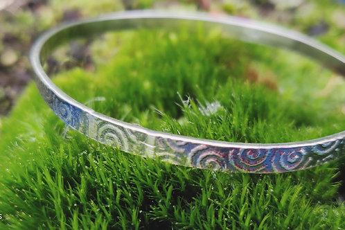 spirals bangle