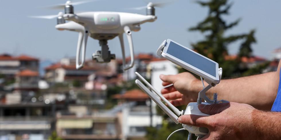 Inspeção Predial com uso de DRONE - carga horária 12h