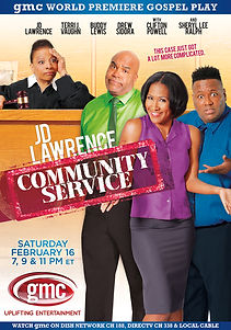 JD Lawrence's Community Service