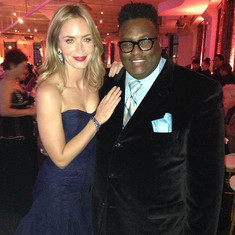 JD Lawrence and Emily Blunt