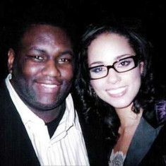 JD Lawrence and Alicia Keyes