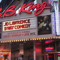 JD Lawrence Live On Broadway