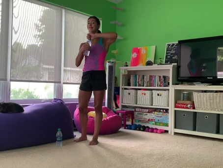 Water Bottle Arm Workout