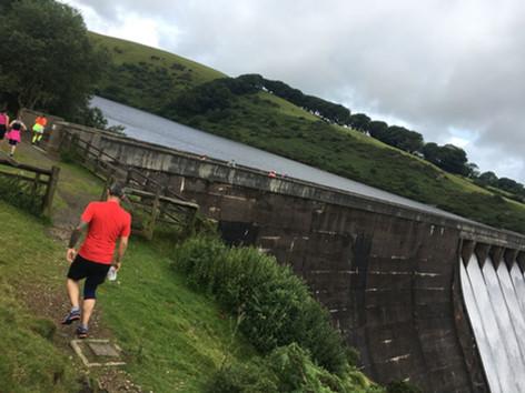 The Dam in full flow..