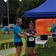 Winning the Dartmoor Marathon, Great day!