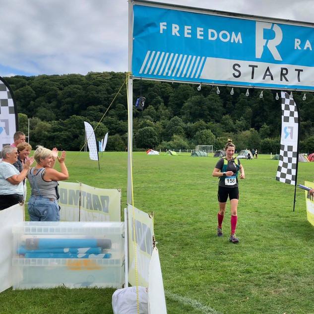 Dartmoor Marathon finish