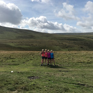 Four Runners enjoying a beautiful September day