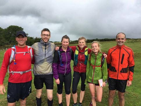 Team to complete the Dartmoor 600's