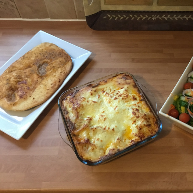 Classic Beef Lasagne for dinner