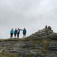 Guests at the highest point on Dartmoor!