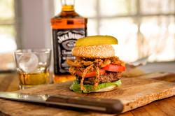 Hamburger at Pine Lodge
