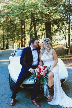 Pine Lodge Barn Wedding