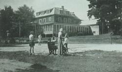 Tennis Players at Pine Lodge