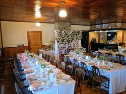 Main Hall Pine Lodge Wedding Venue