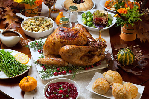 Traditional Turkey Dinner (email to order)