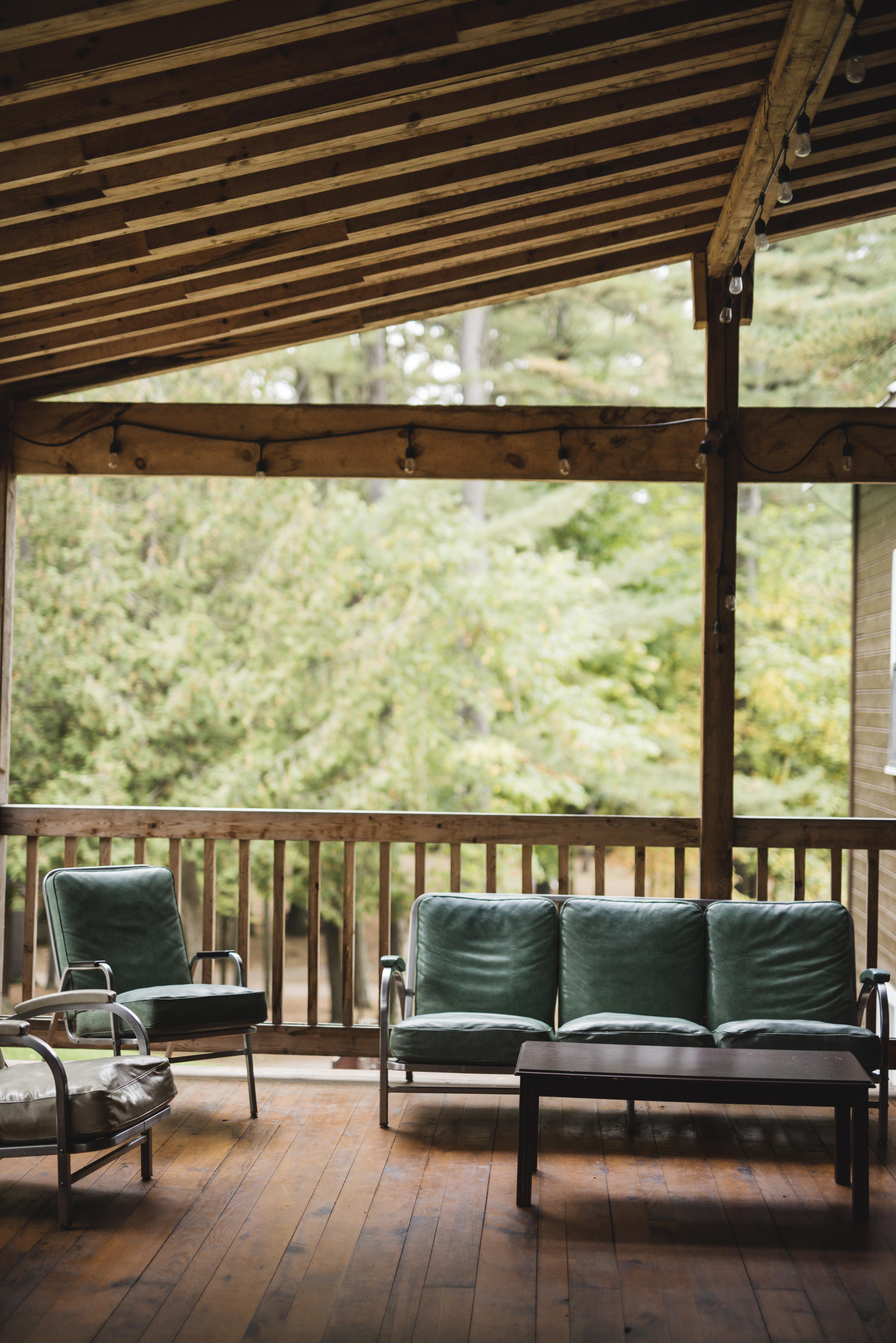 Pine Lodge Porch