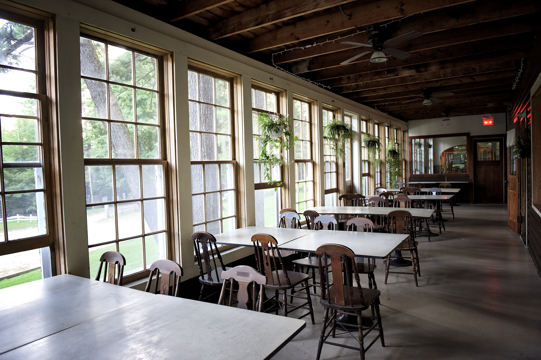 Pine Lodge Dining Porch
