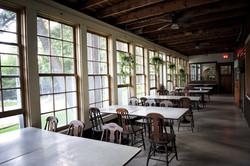 Pine Lodge Dining Porch