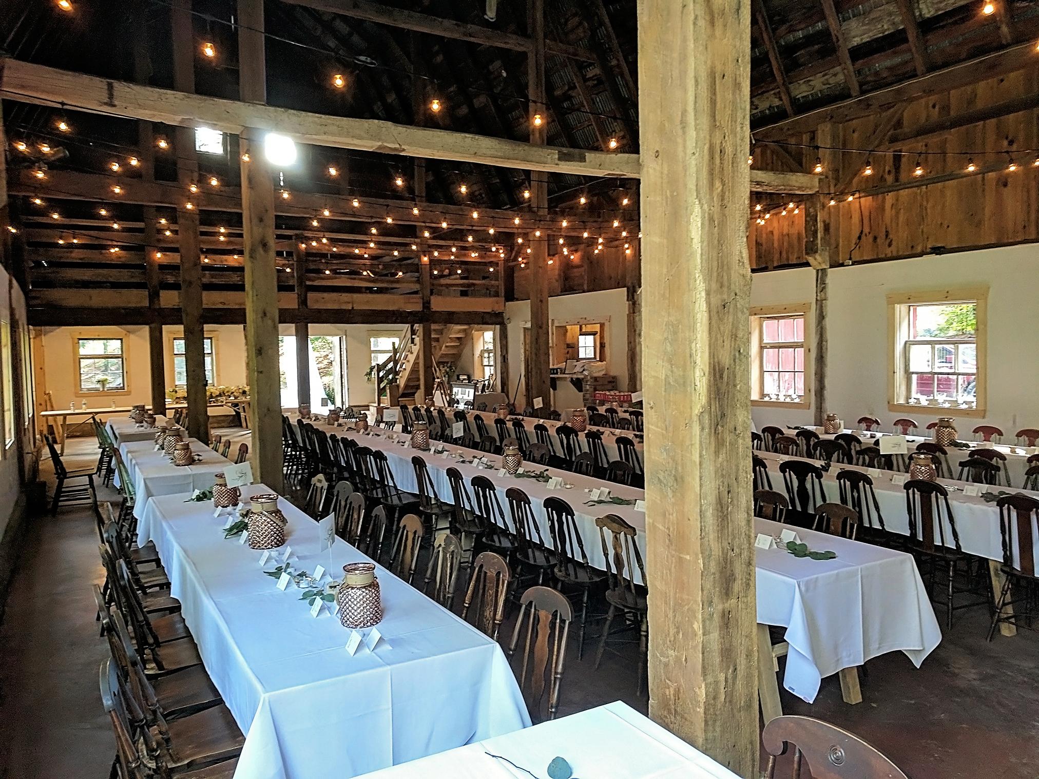 Wedding Barn Pine Lodge