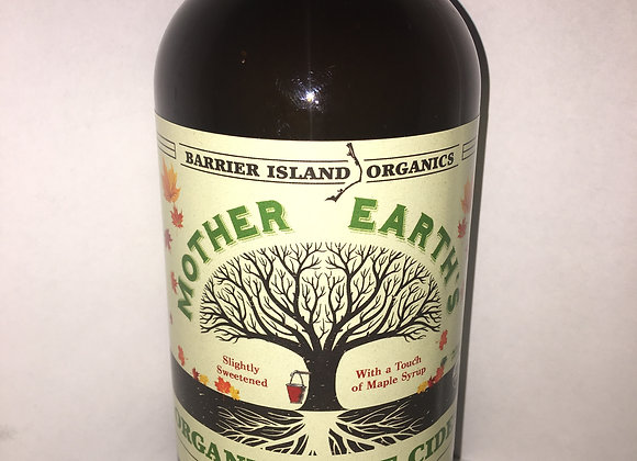 Mother Earth's Organic Root Cider with a touch of Maple Syrup