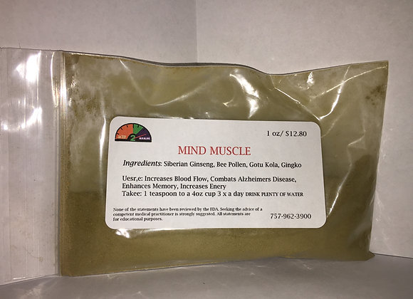 Mind Muscle 1 oz