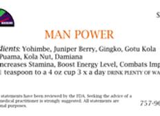 Man Power 1 oz