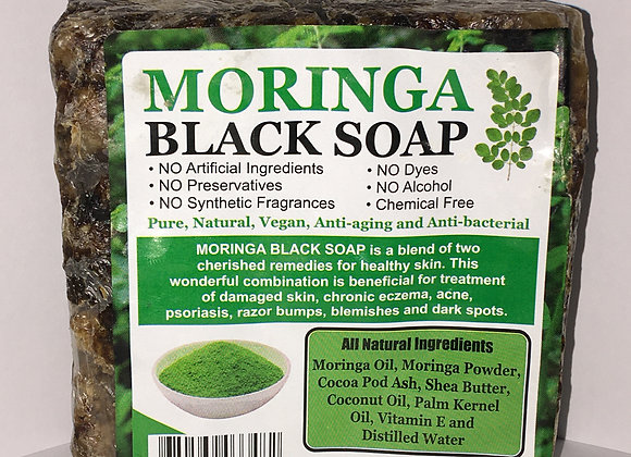 Moringa Black Soap 16 oz
