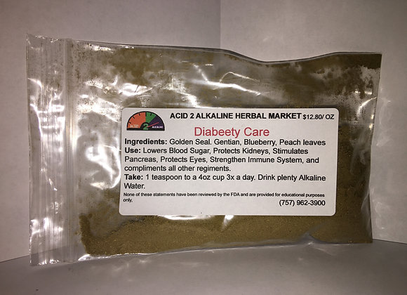 Diabetes Care 1 oz
