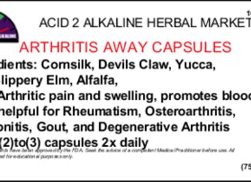 Arthritis Away 100 Capsules