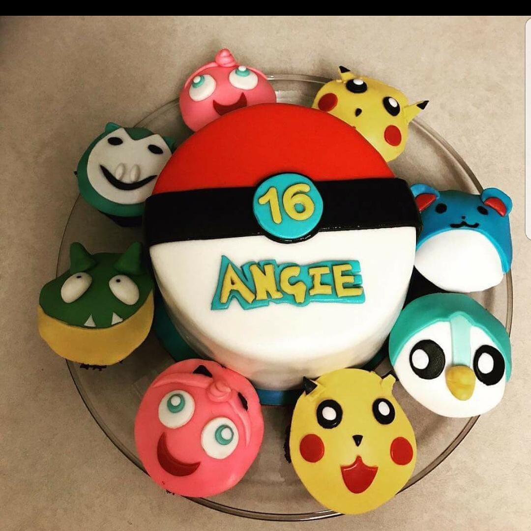 #pokemoncake