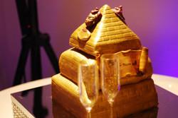 Pyramid Wedding Cake