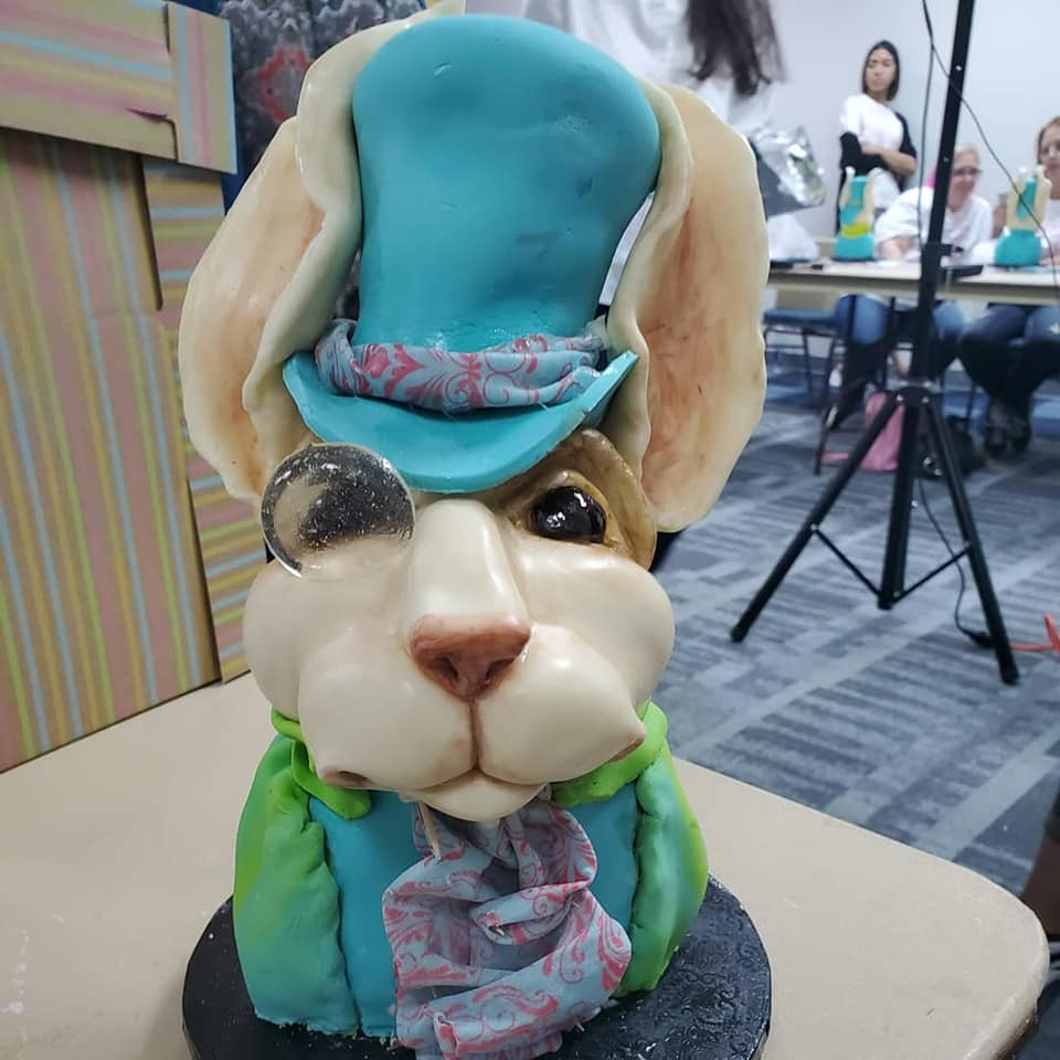 Dashing Bunny Cake