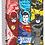 Thumbnail: Caderno Jandaia Liga da Justiça 10 matérias