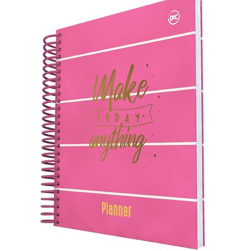 Planner A5 com Espiral Pink