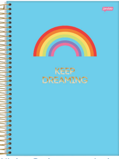 Caderno Wish Jandaia