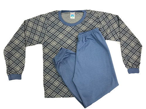 Pijama Fofurinha Kids Masculino - Xadrezinho