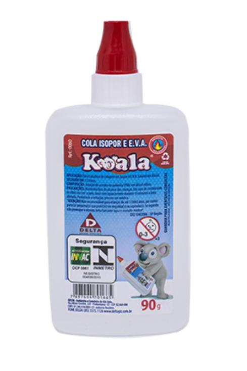 Colar Isopor e EVA Koala 90g