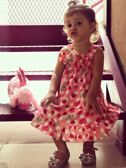 Vestido Frutinha - Kiki Xodó