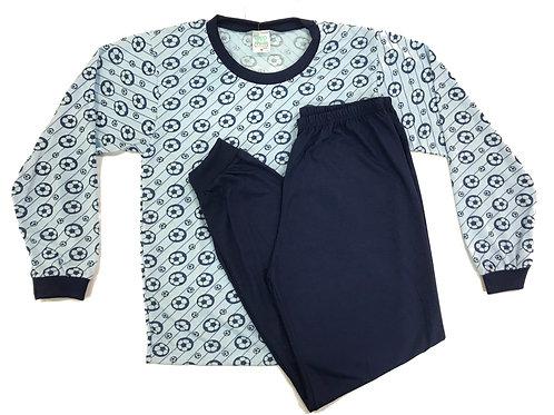 Pijama Fofurinha Kids Masculino - Futebol