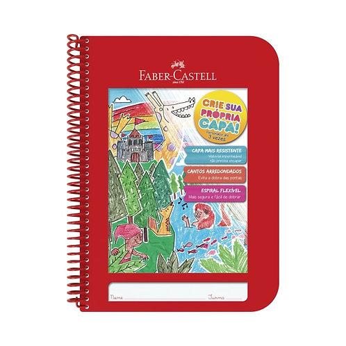 Caderno Crie Sua Própria Capa Faber Castell