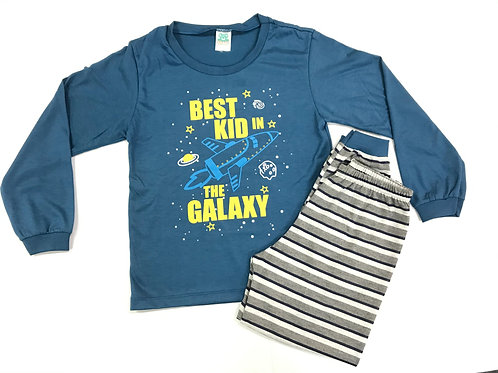 Pijama Fofurinha Kids Masculino - Galaxy