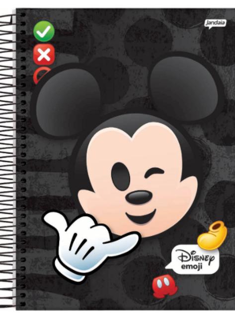 Caderno Disney Emojis 10 Matérias