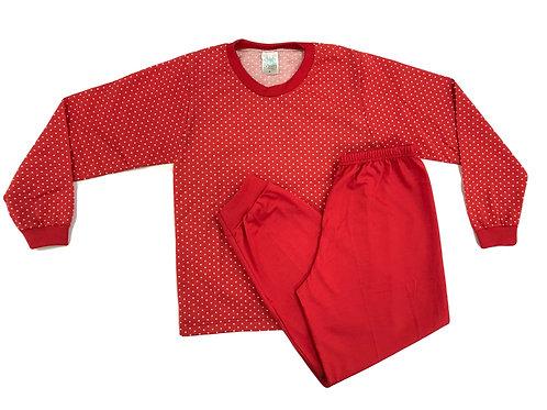 Pijama Fofurinha Kids Feminino - Vermelinho