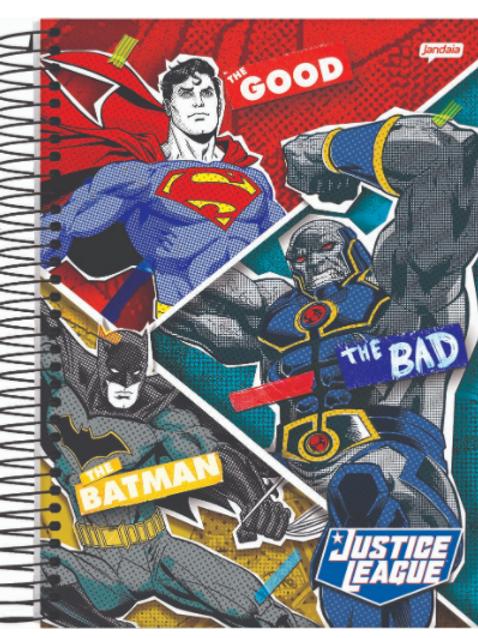 Caderno Jandaia Liga da Justiça 10 matérias