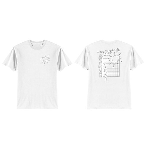 Out of the matrix | White T-shirt
