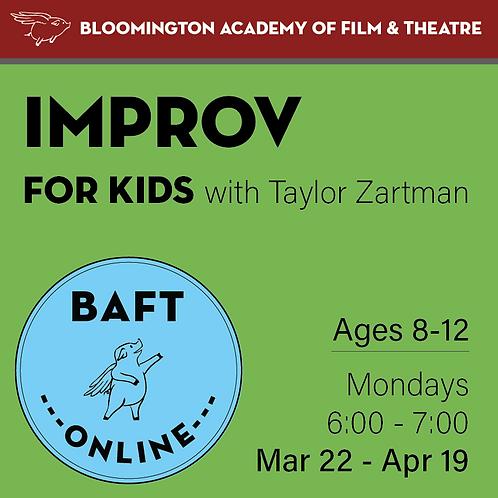 Improv for Kids with Taylor Zartman