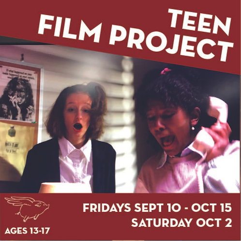 Short Film Project for Teens (Fall 2)